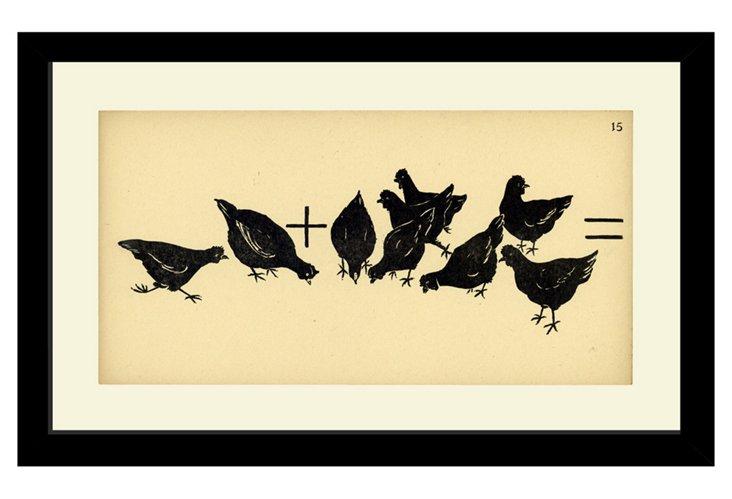 Hens Flashcard