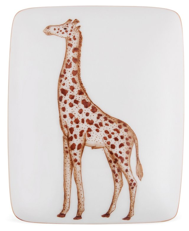 Porcelain Giraffe Box