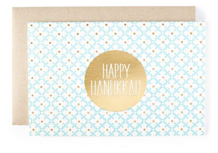 "S/12 ""Happy Hanukkah"" Cards"