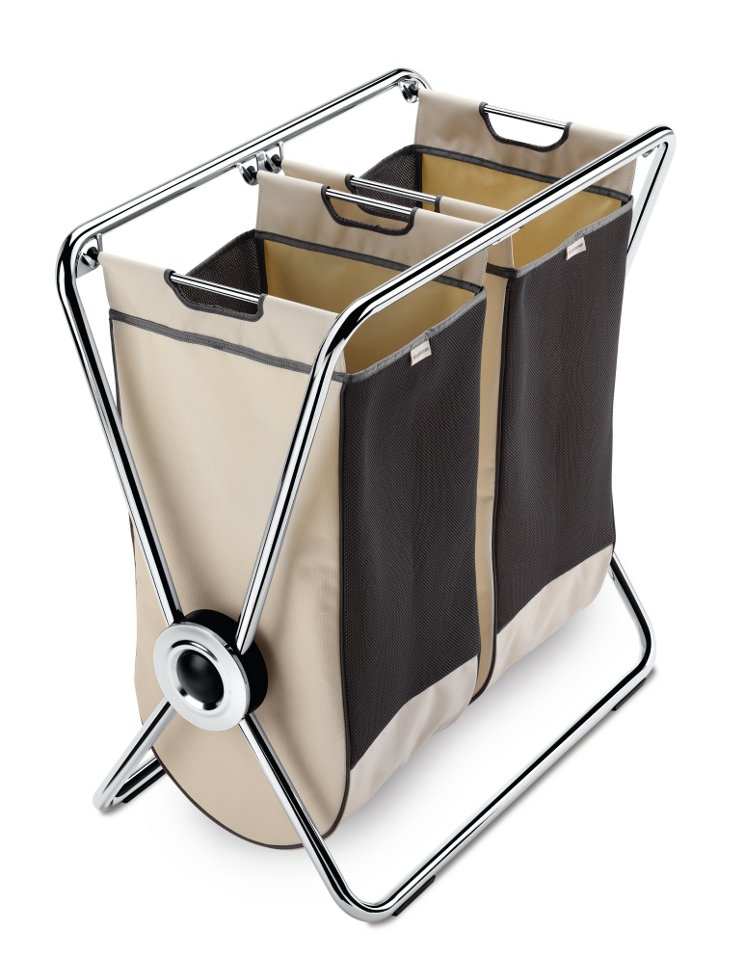 X-Frame Laundry Hamper, Double