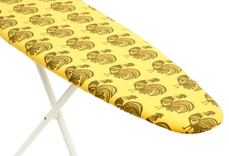 Rooster Ironing Board Cover, Maize