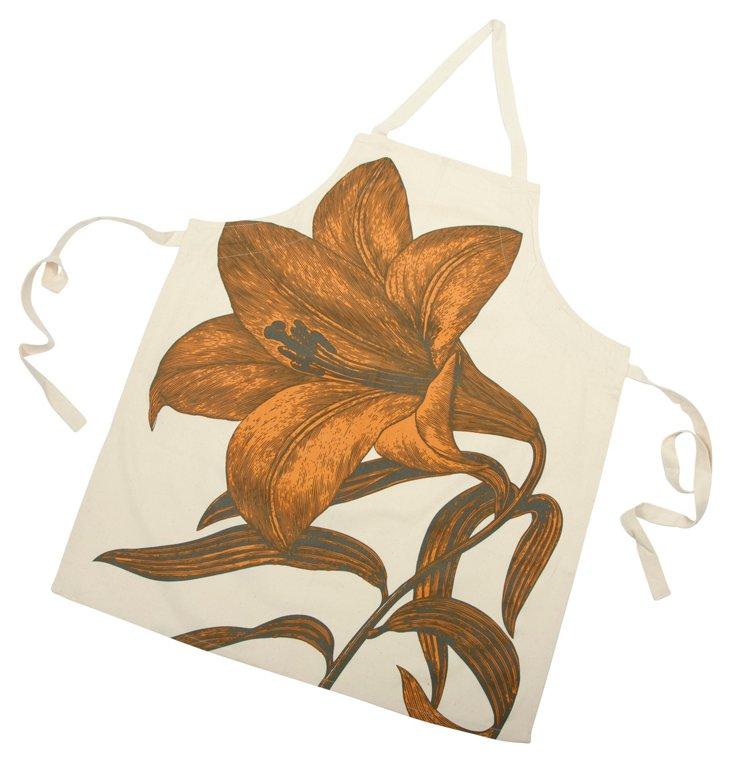 Lily Apron, Orange
