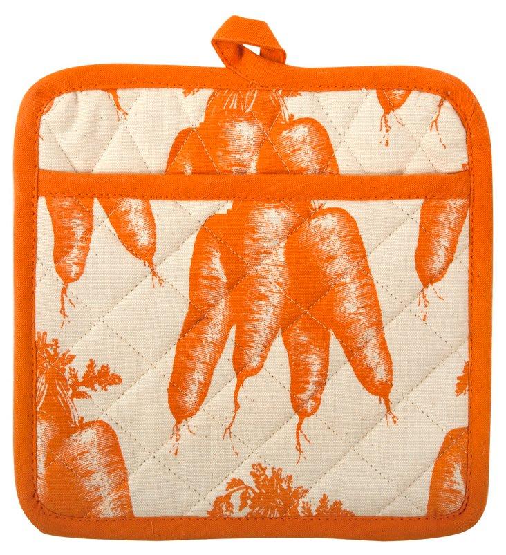 S/2 Carrot Pot Holders