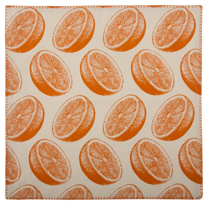 S/4 Orange Napkins