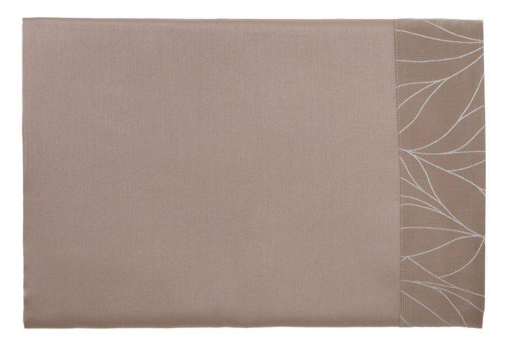 Cal-King Klee Flat Sheet, Taupe