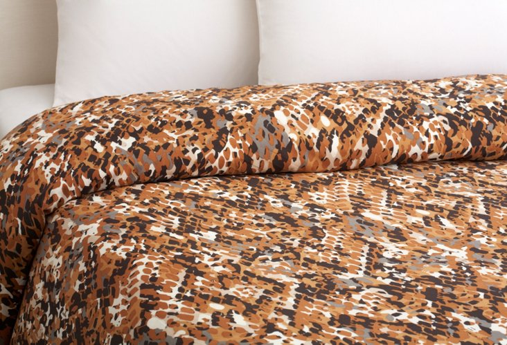 Small Earth Snake Stand Alone Duvet