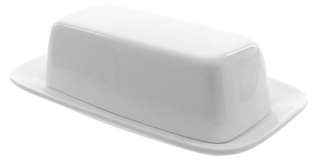 Porcelain Royal Butter Dish