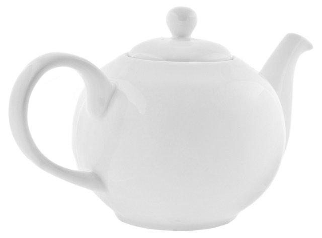 Royal Teapot, White