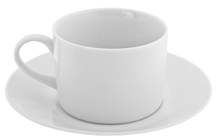 S/6 Porcelain Royal Cups & Saucers