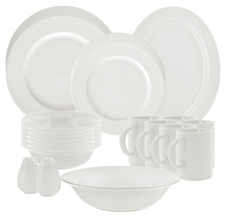 28-Pc Porcelain Royal Dinnerware Set