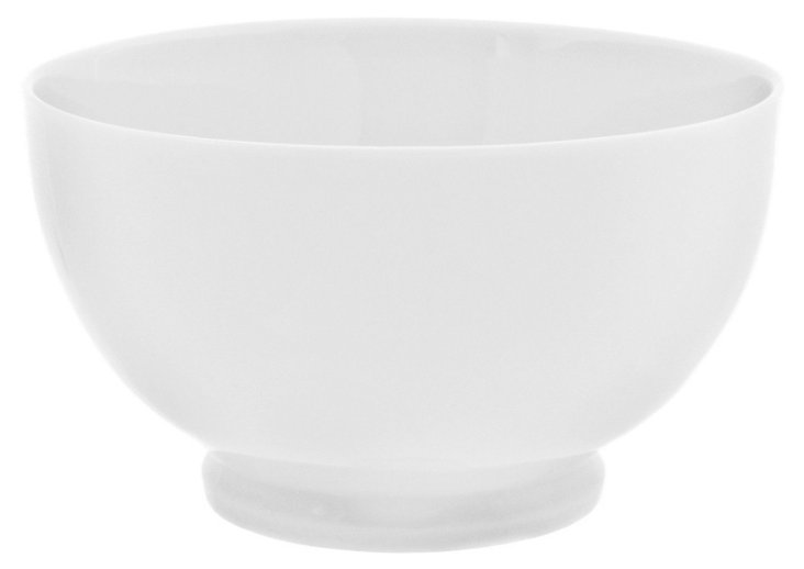 S/6 Porcelain Footed Bowls