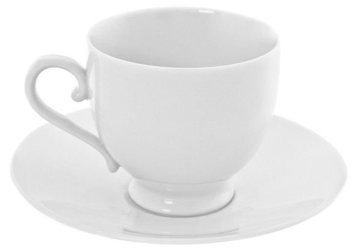 S/6 Royal Teacups & Saucers