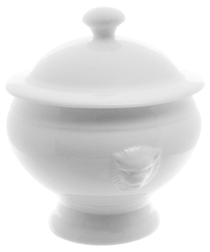 S/4 Porcelain Lion-Head Soup Tureens