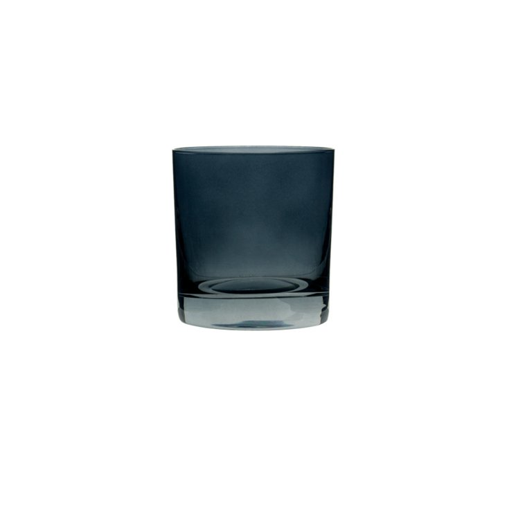 S/6 Double Old Fashioned Glasses, Onyx