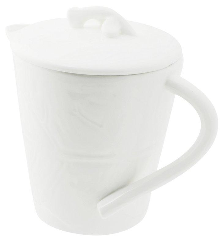 Maya Teapot, White