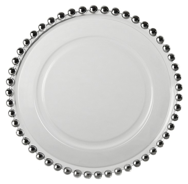 S/4 Belmont Plates, Silver