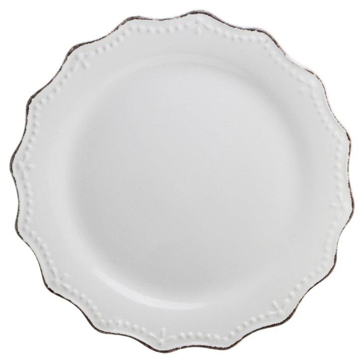 "S/6 Oxford Salad Plates, 8.3"""