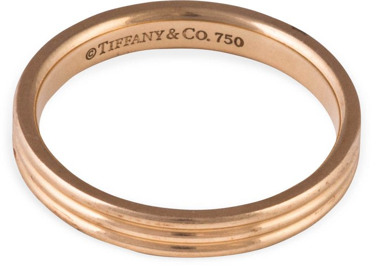 Tiffany & Co. Gold Band