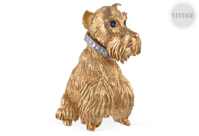 Cartier Terrier Brooch