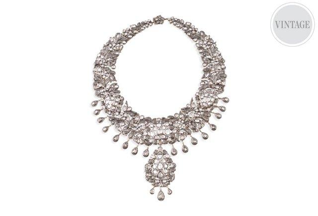 Large Indian Bib Necklace