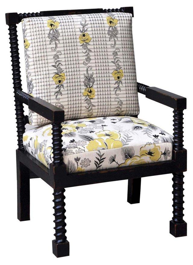 Presse Armchair, Black/Multi