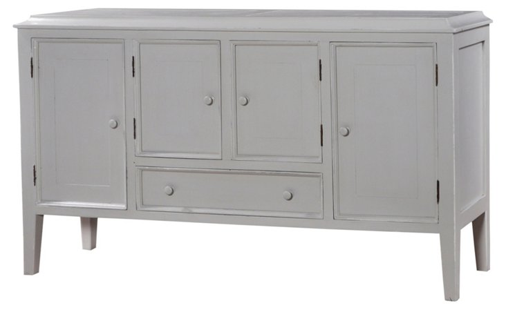 Knowle Large Sideboard, Gray