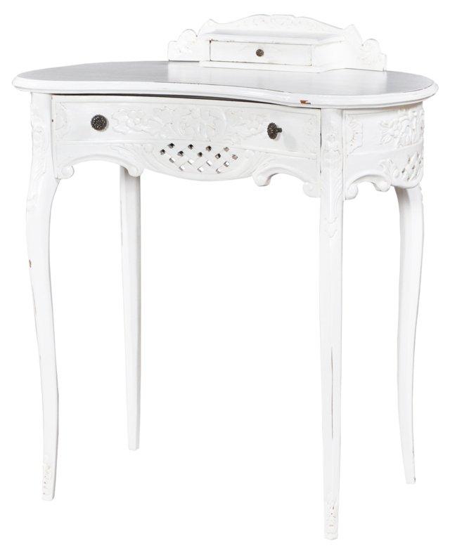 Antoinette Desk, Weathered White