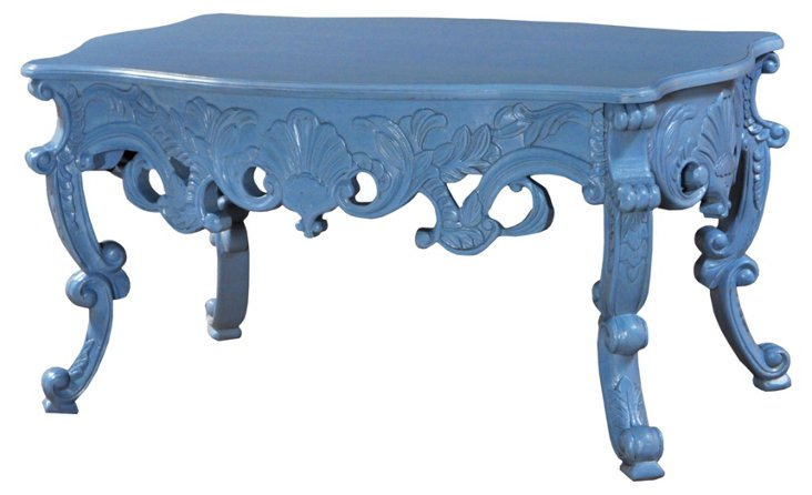 Abbie Coffee Table, Blue