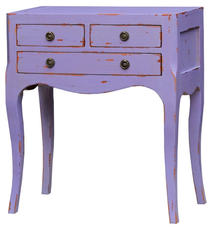 Chardonnay Side Table, Lavender