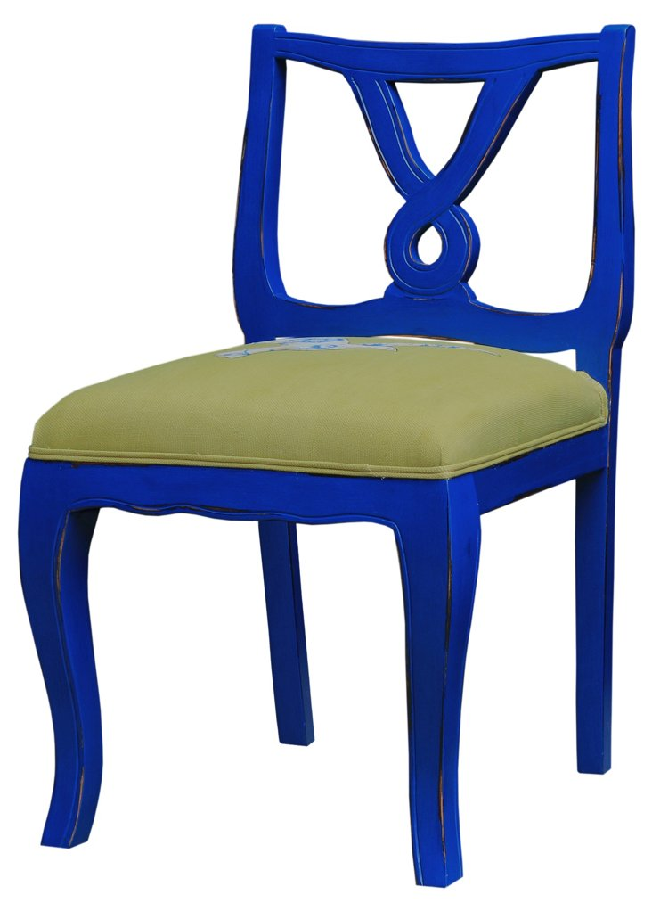 HOLD Valliant Chair, Prussian Blue