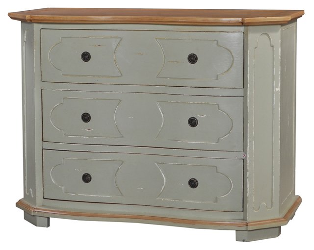 Heather 3-Drawer Chest, Taupe