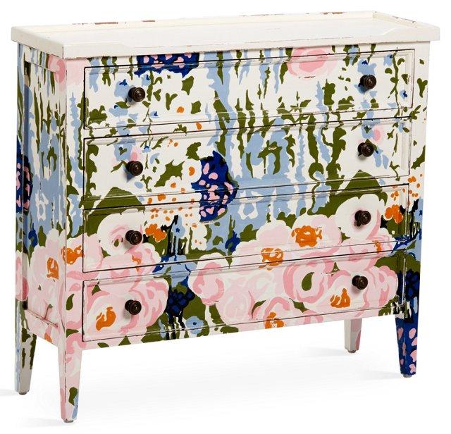 Abeline Dresser, Pink/Lavender