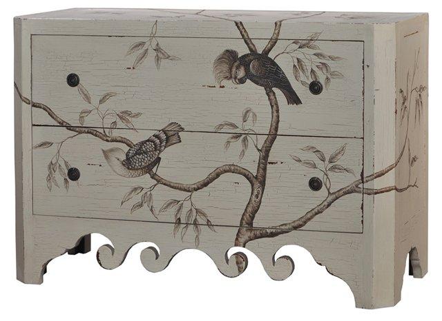 Emma Dresser, Gray/Taupe