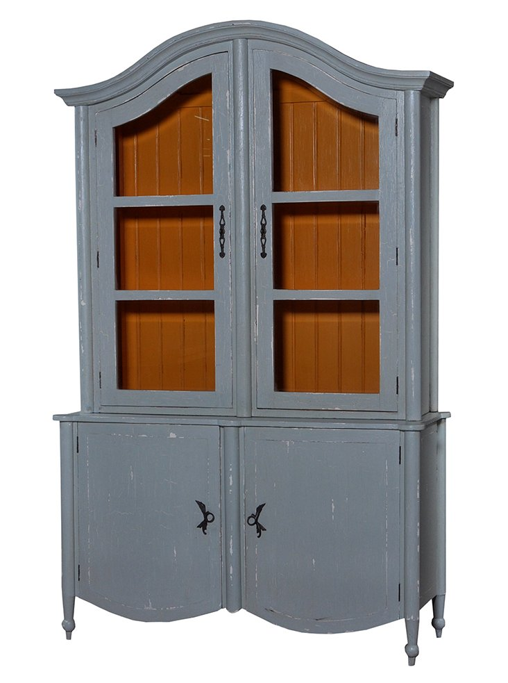 Carter Armoire, Distressed Gray