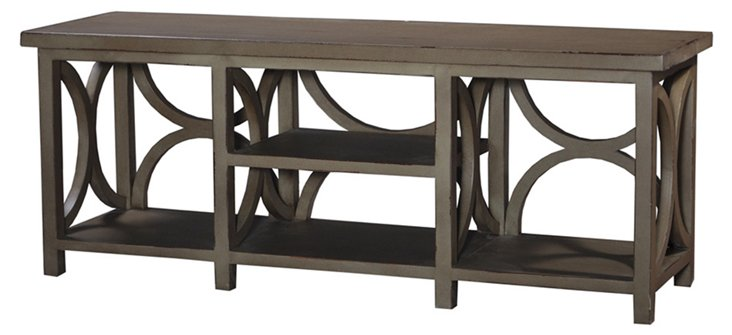 Julien Media Stand, Taupe