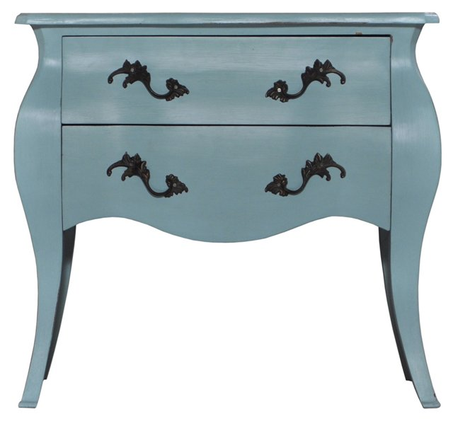 Valerie Nightstand, Light Blue