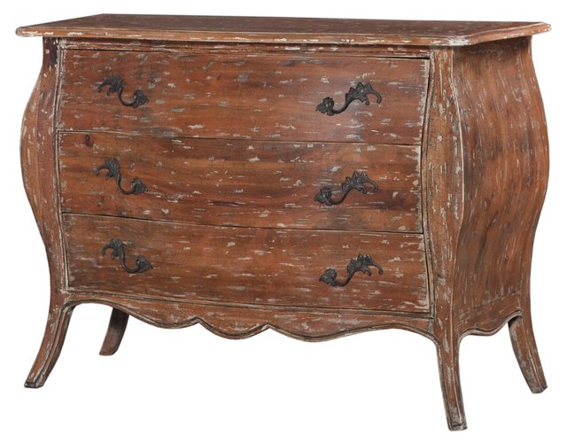 Kelli Bombé Chest, Distressed Natural