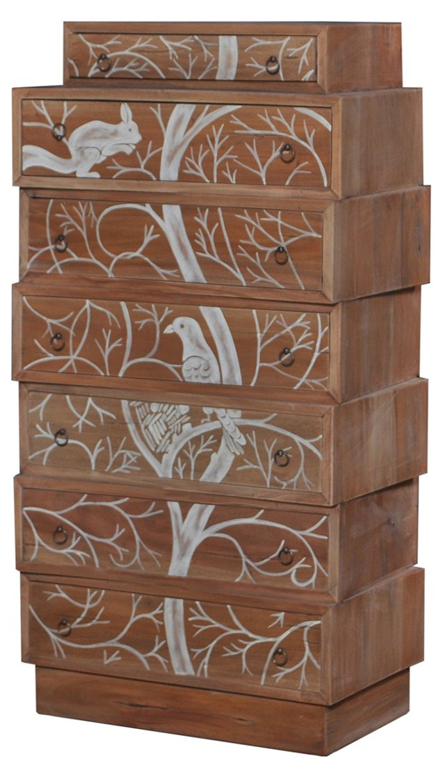 Eva Chest of Drawers, Natural
