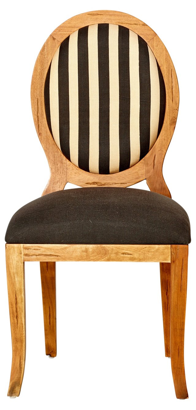 Hope Dining Chair, Natural/Yellow