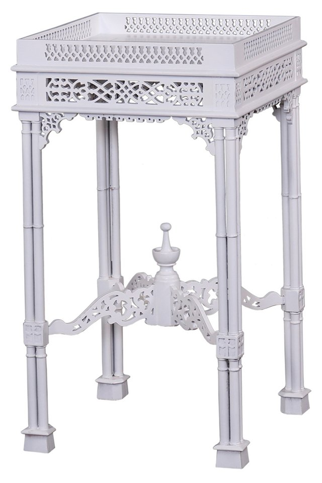 Madison Side Table, White