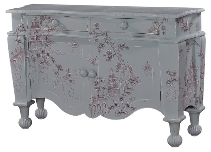 Darcy Sideboard, Gray/Brown