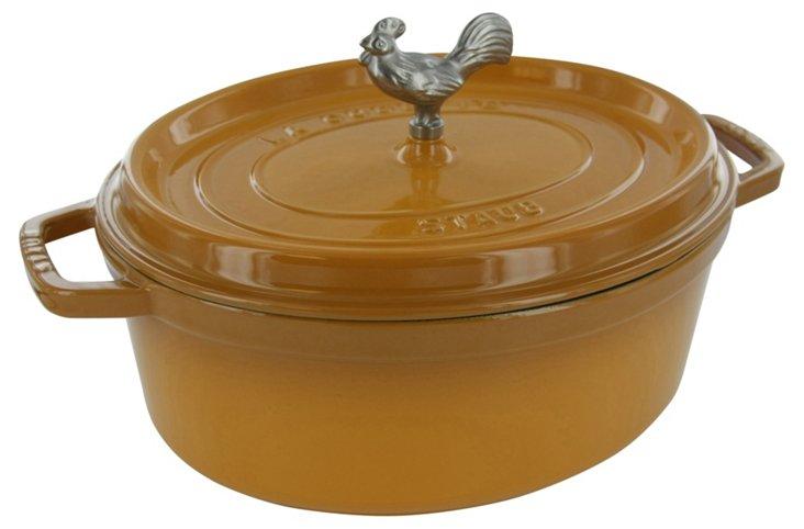 5.75 Qt Coq au Vin Cocotte, Saffron