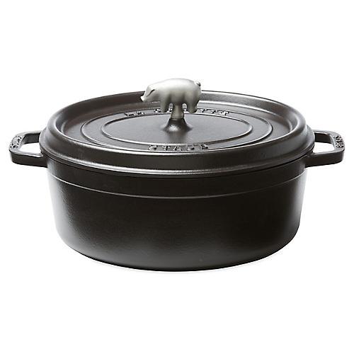 5.75 qt Porc Cocotte, Matte Black