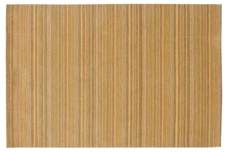6'x9' Shaker Rug, Gold/Sage