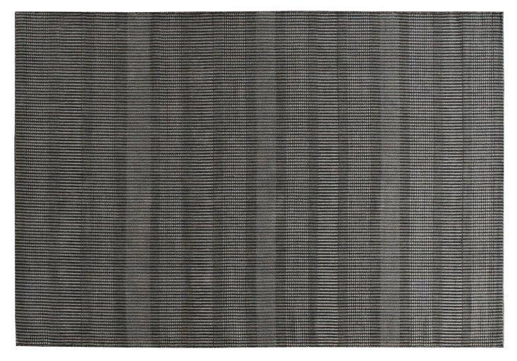 6'x9' Hardy Rug, Charcoal