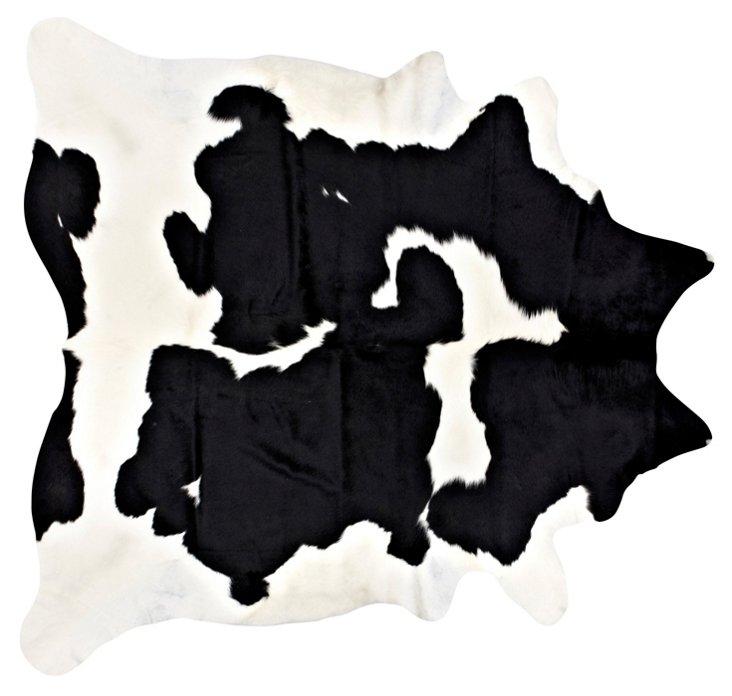 "7'x7'6"" Iota Hide, Black/White"