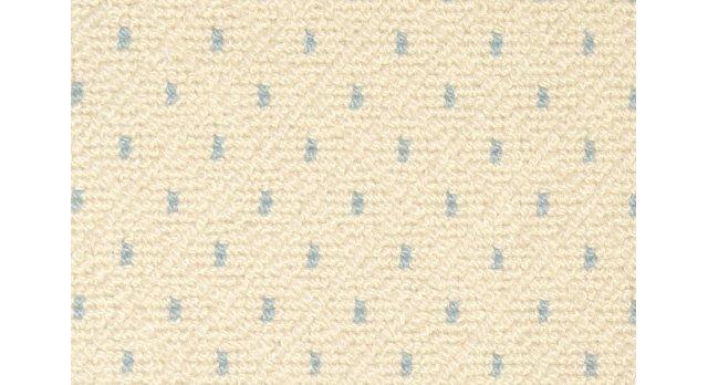 Antigula Rug, Ivory/French Blue