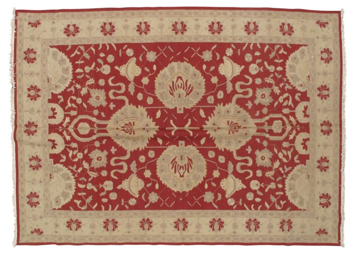 10' x 14' Abay Rug, Red/Beige