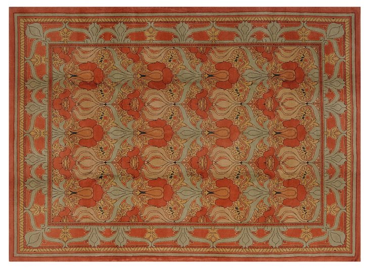 "8'8"" x 11' Elan Rug, Red Clay/Terracotta"