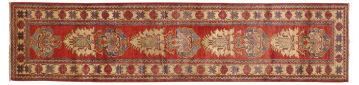 "2'7"" x 11'3"" Agnes Runner, Red/Multi"